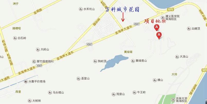 根据《珠海市金湾区三灶镇控制性详细规划及城市设计编制》规定,若向